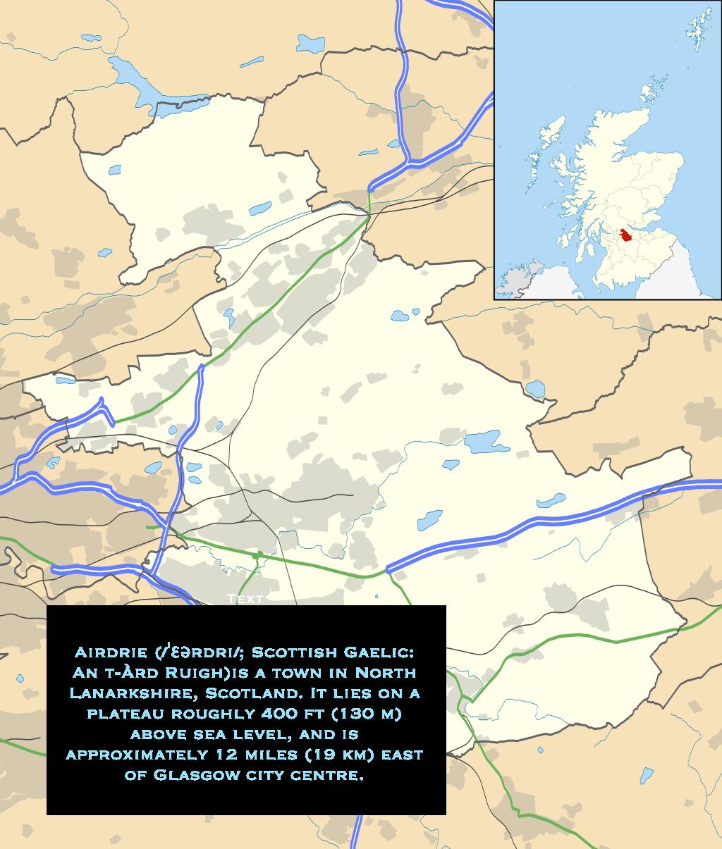 Airdrie, Scotland | MEDEA on map east lothian scotland, excelsior stadium, airdrie public library, lanark high church glasgow scotland, map of airdrie alberta, map of glasgow ky, airdrie-bathgate rail link, airdrie and shotts, airdrie public observatory, airdrie lanarkshire scotland,